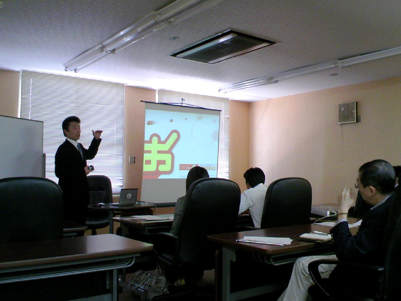永本さん講演中